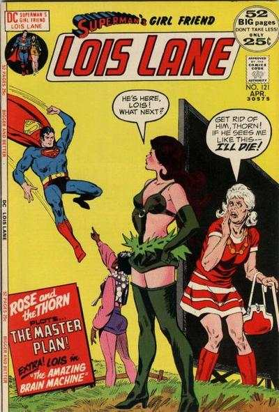 Superman's Girl Friend Lois Lane #121 comic books - cover scans photos Superman's Girl Friend Lois Lane #121 comic books - covers, picture gallery
