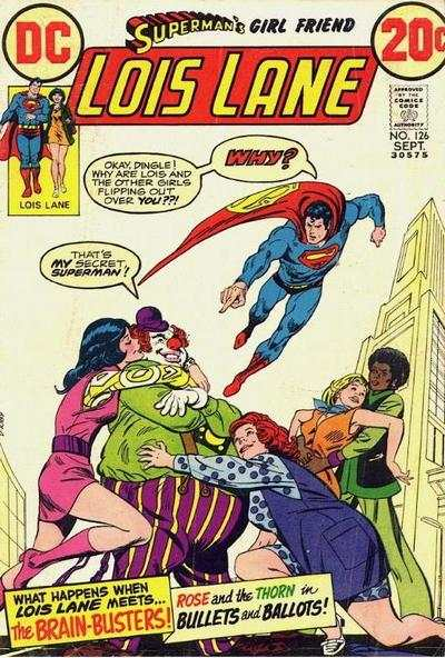 Superman's Girl Friend Lois Lane #126 comic books for sale