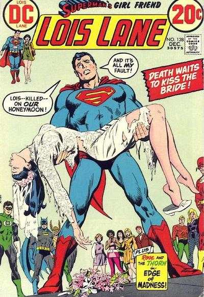 Superman's Girl Friend Lois Lane #128 Comic Books - Covers, Scans, Photos  in Superman's Girl Friend Lois Lane Comic Books - Covers, Scans, Gallery