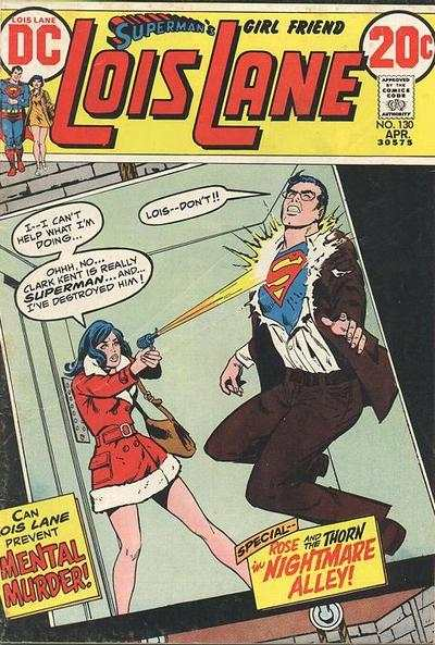 Superman's Girl Friend Lois Lane #130 comic books - cover scans photos Superman's Girl Friend Lois Lane #130 comic books - covers, picture gallery
