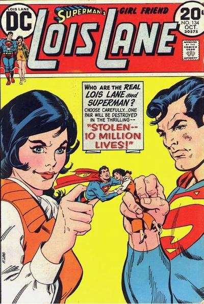 Superman's Girl Friend Lois Lane #134 comic books - cover scans photos Superman's Girl Friend Lois Lane #134 comic books - covers, picture gallery