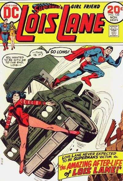 Superman's Girl Friend Lois Lane #135 comic books - cover scans photos Superman's Girl Friend Lois Lane #135 comic books - covers, picture gallery