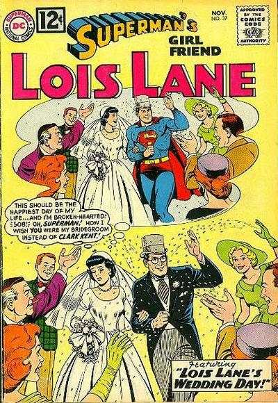 Superman's Girl Friend Lois Lane #37 Comic Books - Covers, Scans, Photos  in Superman's Girl Friend Lois Lane Comic Books - Covers, Scans, Gallery