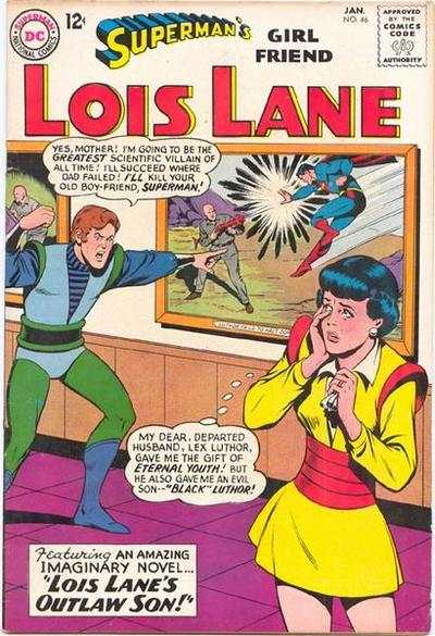 Superman's Girl Friend Lois Lane #46 comic books - cover scans photos Superman's Girl Friend Lois Lane #46 comic books - covers, picture gallery