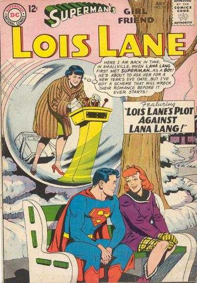 Superman's Girl Friend Lois Lane #50 comic books - cover scans photos Superman's Girl Friend Lois Lane #50 comic books - covers, picture gallery