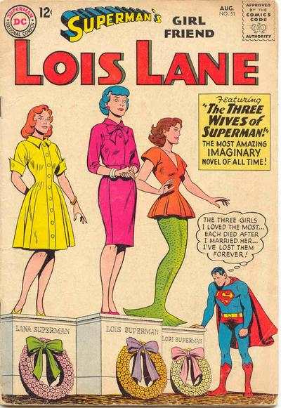 Superman's Girl Friend Lois Lane #51 comic books - cover scans photos Superman's Girl Friend Lois Lane #51 comic books - covers, picture gallery