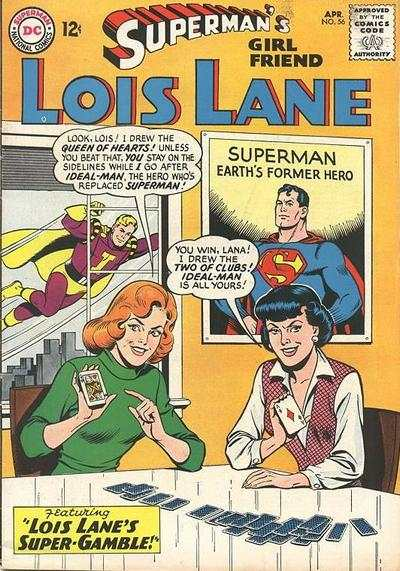 Superman's Girl Friend Lois Lane #56 comic books - cover scans photos Superman's Girl Friend Lois Lane #56 comic books - covers, picture gallery