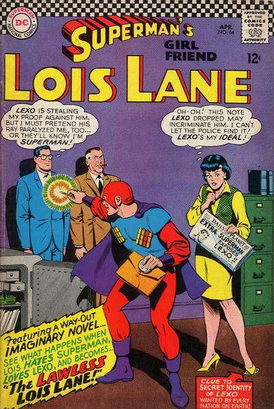 Superman's Girl Friend Lois Lane #64 comic books - cover scans photos Superman's Girl Friend Lois Lane #64 comic books - covers, picture gallery