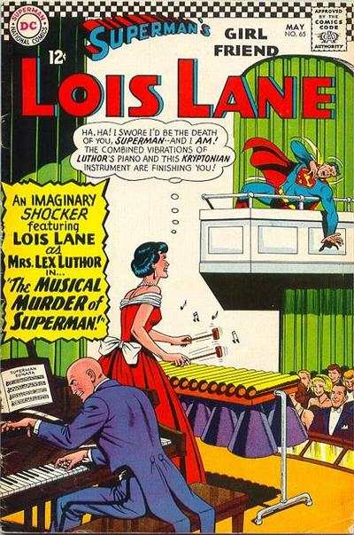 Superman's Girl Friend Lois Lane #65 comic books - cover scans photos Superman's Girl Friend Lois Lane #65 comic books - covers, picture gallery