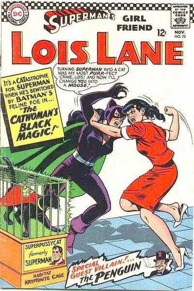 Superman's Girl Friend Lois Lane #70 comic books - cover scans photos Superman's Girl Friend Lois Lane #70 comic books - covers, picture gallery
