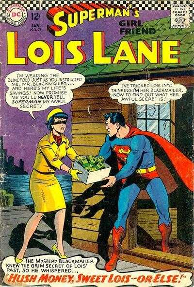 Superman's Girl Friend Lois Lane #71 comic books - cover scans photos Superman's Girl Friend Lois Lane #71 comic books - covers, picture gallery
