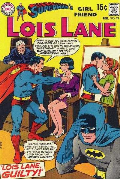 Superman's Girl Friend Lois Lane #99 comic books - cover scans photos Superman's Girl Friend Lois Lane #99 comic books - covers, picture gallery