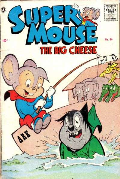 Supermouse: The Big Cheese #36 comic books for sale