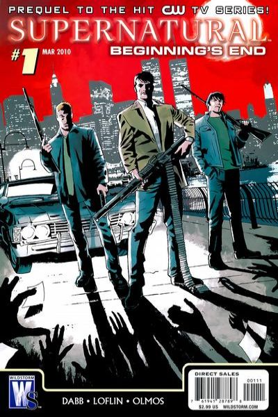 Supernatural: Beginning's End comic books