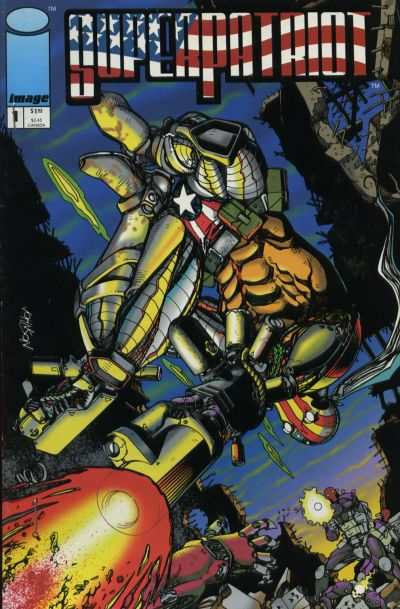 Superpatriot #1 Comic Books - Covers, Scans, Photos  in Superpatriot Comic Books - Covers, Scans, Gallery