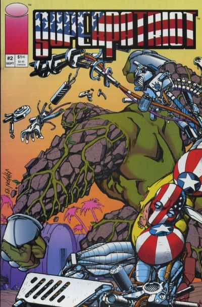 Superpatriot #2 Comic Books - Covers, Scans, Photos  in Superpatriot Comic Books - Covers, Scans, Gallery