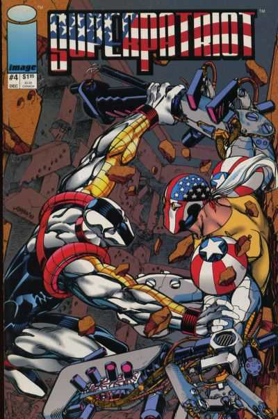 Superpatriot #4 comic books - cover scans photos Superpatriot #4 comic books - covers, picture gallery