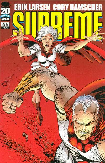 Supreme #66 Comic Books - Covers, Scans, Photos  in Supreme Comic Books - Covers, Scans, Gallery
