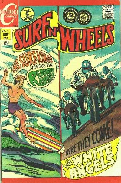 Surf n' Wheels #1 Comic Books - Covers, Scans, Photos  in Surf n' Wheels Comic Books - Covers, Scans, Gallery