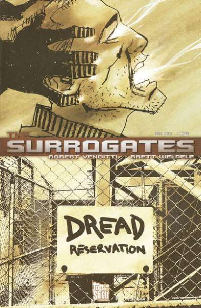 Surrogates #2 comic books - cover scans photos Surrogates #2 comic books - covers, picture gallery