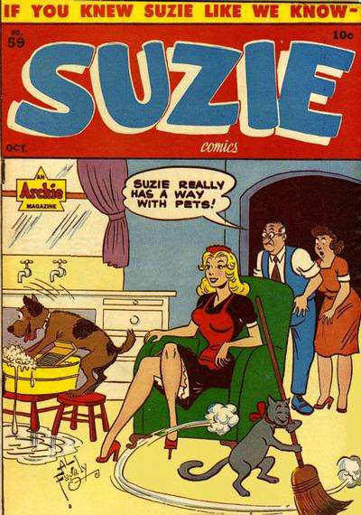Suzie Comics #59 Comic Books - Covers, Scans, Photos  in Suzie Comics Comic Books - Covers, Scans, Gallery