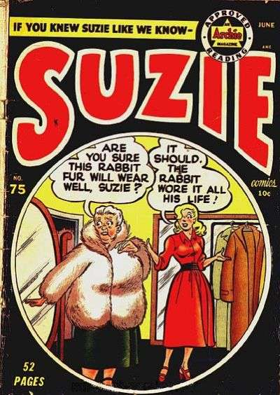 Suzie Comics #75 Comic Books - Covers, Scans, Photos  in Suzie Comics Comic Books - Covers, Scans, Gallery