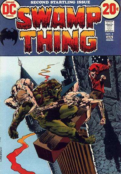 Swamp Thing #2 Comic Books - Covers, Scans, Photos  in Swamp Thing Comic Books - Covers, Scans, Gallery