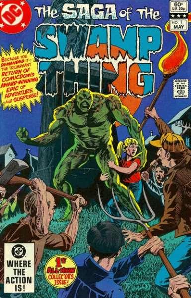 Swamp Thing comic books