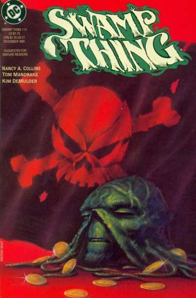 Swamp Thing #114 comic books for sale