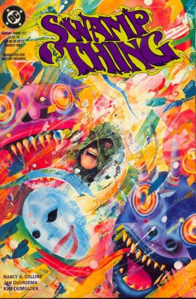 Swamp Thing #117 comic books for sale