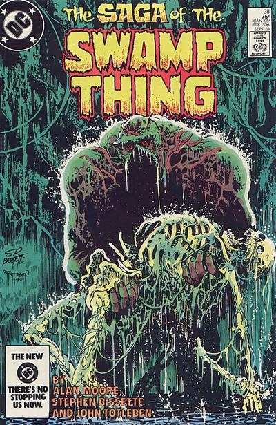 Swamp Thing #28 comic books for sale