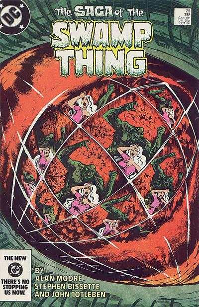 Swamp Thing #29 comic books for sale
