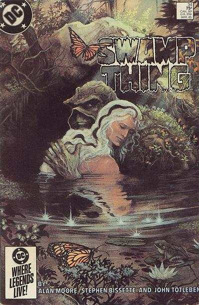 Swamp Thing #34 comic books for sale
