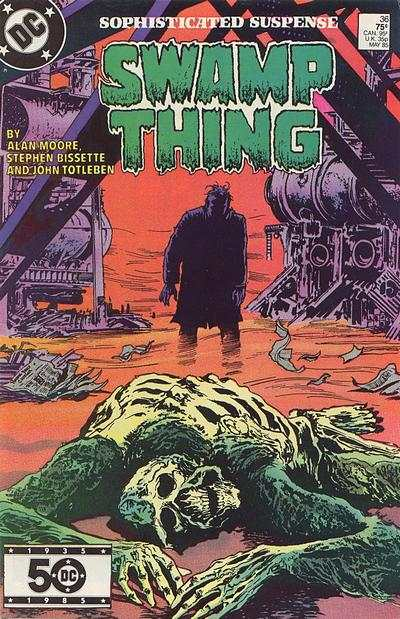 Swamp Thing #36 comic books for sale
