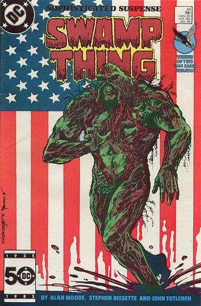 Swamp Thing #44 Comic Books - Covers, Scans, Photos  in Swamp Thing Comic Books - Covers, Scans, Gallery