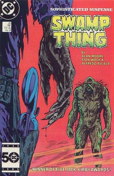 Swamp Thing #45 Comic Books - Covers, Scans, Photos  in Swamp Thing Comic Books - Covers, Scans, Gallery