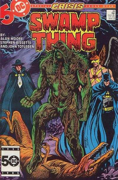 Swamp Thing #46 Comic Books - Covers, Scans, Photos  in Swamp Thing Comic Books - Covers, Scans, Gallery