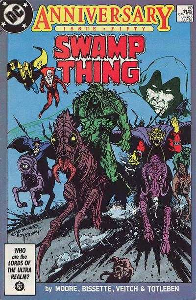Swamp Thing #50 Comic Books - Covers, Scans, Photos  in Swamp Thing Comic Books - Covers, Scans, Gallery