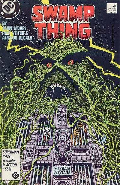 Swamp Thing #52 Comic Books - Covers, Scans, Photos  in Swamp Thing Comic Books - Covers, Scans, Gallery