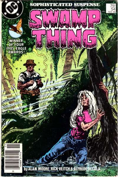 Swamp Thing #54 comic books for sale