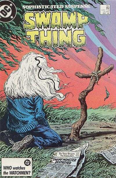 Swamp Thing #55 comic books for sale