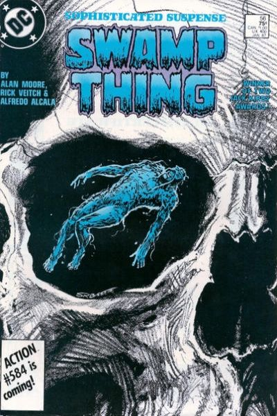 Swamp Thing #56 comic books for sale