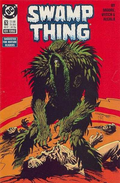 Swamp Thing #63 comic books for sale