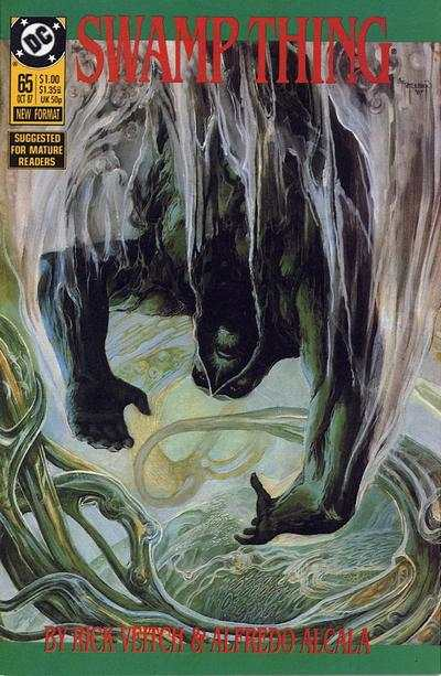 Swamp Thing #65 comic books for sale