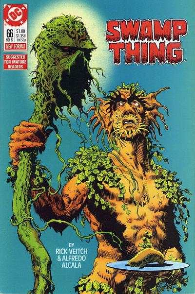Swamp Thing #66 comic books for sale