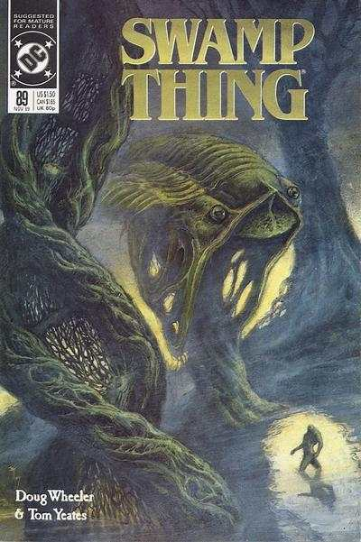 Swamp Thing #89 comic books for sale