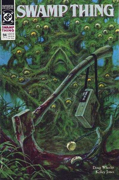 Swamp Thing #94 comic books for sale