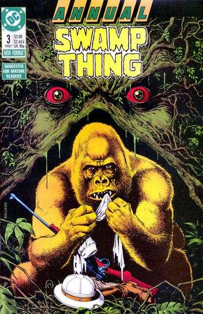 Swamp Thing #3 comic books for sale