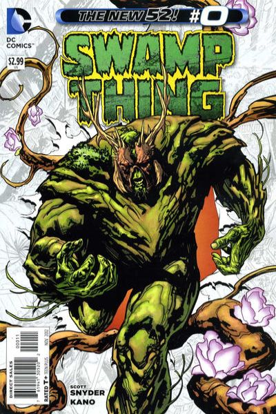 Swamp Thing #0 comic books - cover scans photos Swamp Thing #0 comic books - covers, picture gallery