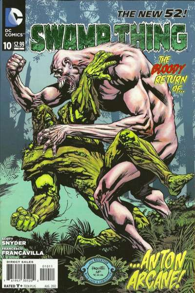 Swamp Thing #10 comic books - cover scans photos Swamp Thing #10 comic books - covers, picture gallery